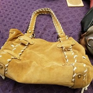 Kooba NWT Suede Leather Bag